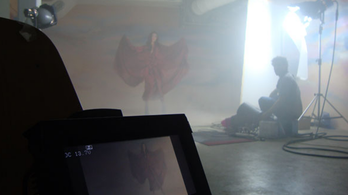 Making of the video for Kasper Bjørke's 'Heaven'