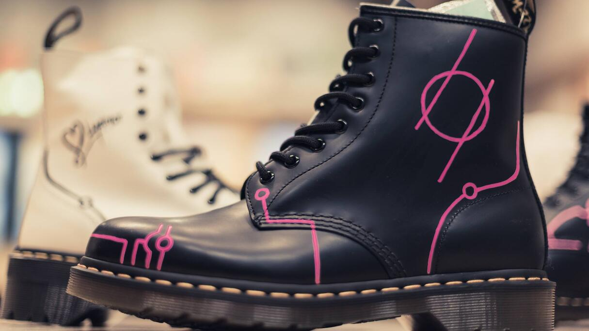 Dr. Martens signature boots designed by Lydmor | hfn music